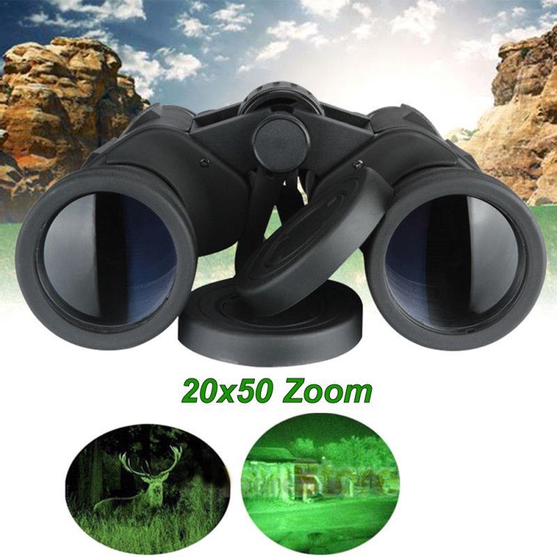 Outdoor Waterproof Binocular Zoom Field Glasses Great Handheld Telescopes High Magnification HD Powerful binoculars Optical#1106