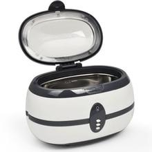 Ultrasonic Cleaner Wash Bath Tank Baskets Jewelry Watches Dental 0.6L Ultrasound Mini Ultrasonic Cleaner Bath