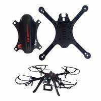 Quadcopter Cuerpo cubierta Conchas para mjx B3 bugs RC drone Crash Pack reemplazo negro RC drone accesorios)