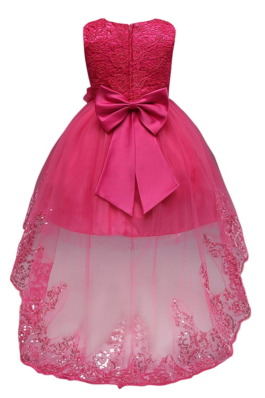ᐂColores del caramelo lindo Niñas vestido del desfile princesa ...