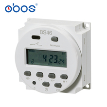 LCD power supply digital 12V / 24V / 110V / 220V AC / DC 7-day programmable timer time switch and CN101 current 16A