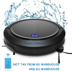 NEWEST robot vacuum cleaner cordless home QQ9 with water tank 200ml