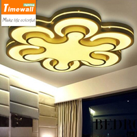 Abajur Km App Phone Control Surface Mounted Led Ceiling Lights For Living Room Bedroom Light Fixture
