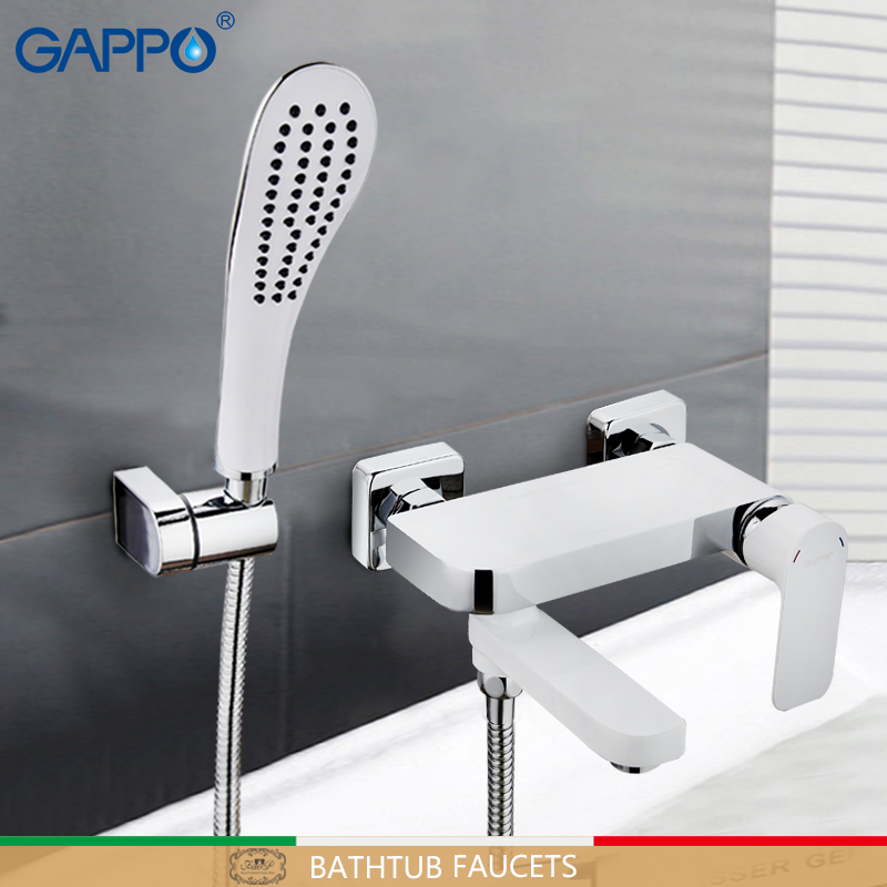 GAPPO Bathtub Faucet rotatable shower faucet tap bath shower set waterfall bathtub sink faucet water mixer sink taps baolinlong classic styling brass bathroom shower faucet bathtub faucet tap bath shower set waterfall bathtub sink faucet water