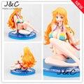 Envío Gratis Japanese Anime Cartoon One Piece Nami Figuras de Acción PVC Doll Tos Model Collection figura chica sexy