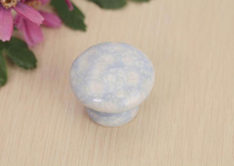 10 pcsfine, волнистые роскошь керамическая большой круг ручки Корейский сад Европейском стиле минимализма ящика двери 0