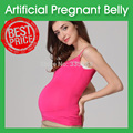 Artificial Pregnant Belly, Skin Color, 4~5 Months, 1500g, Silicone Made Artificial Fake Pregnant Belly
