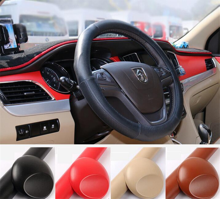 50x10cm/piece Car Internal Styling Leather Grain Film Vinyl Stickers Automobile Interior Accessories