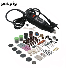 Petpig 180W Multitool Woodworking Polishing Electric Tool 220V Machine Polishing Making Tool Cutting and Drilling Tool Sets недорого