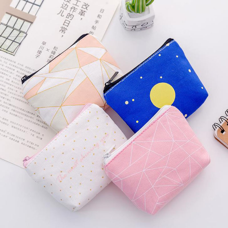 Filing Products Independent 1 Pcs Novelty Kawaii Mini Starry Sky Zipper Colorful File Bag Document Bag File Folder Stationery Filing Production Great Varieties