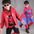Kids Boy Spidermen Tracksuits Sportwear Clothing Spider Man Hoodie Vest Shirt Pants 3pcs Spiderman Suit Set Clothes For Children