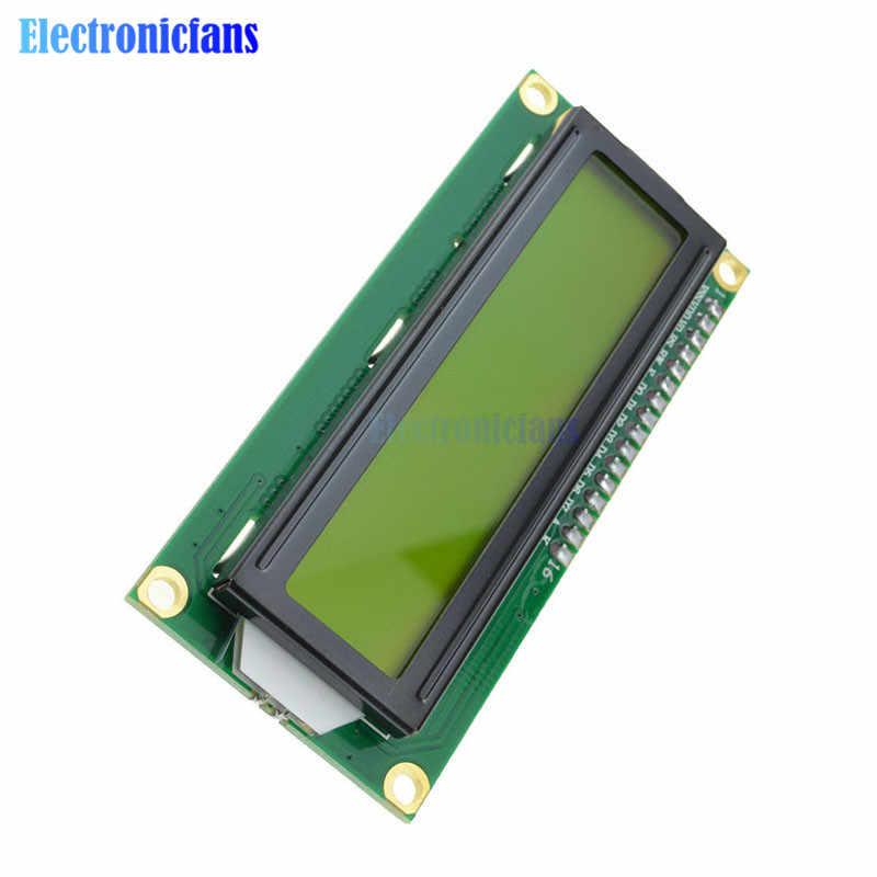 1602 Module LCD 16X2 IIC I2C TWI S I Interface série affichage LCD jaune 1602 16X2 caractères pour contrôleur Arduino