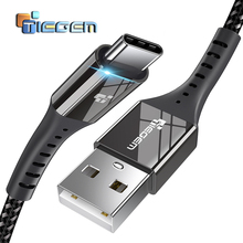TIEGEM USB Type C Cable UBS-C 2A Fast Charging Type-C Cable Sync Data Cable for Samsung Note 8/S8 Nexus 6P 5X Nintendo Switch