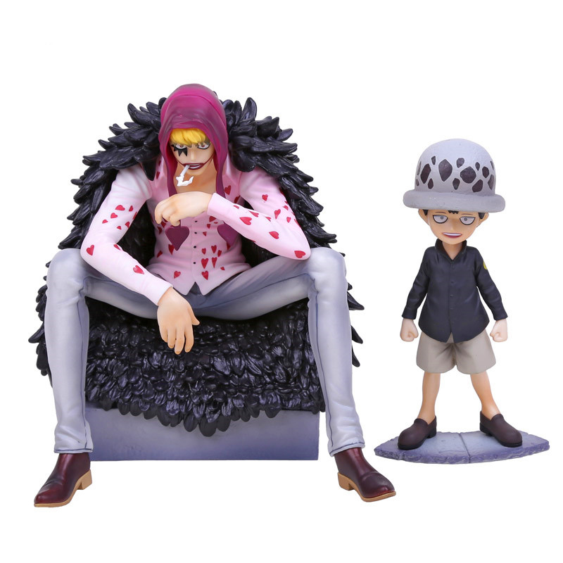 Anime One Piece Corazon & Law P.O.P Limited Edition PVC Action Figures Collectible Model Toys RETAIL BOX hot sale 26cm anime shanks one piece action figures anime pvc brinquedos collection figures toys with retail box free shipping