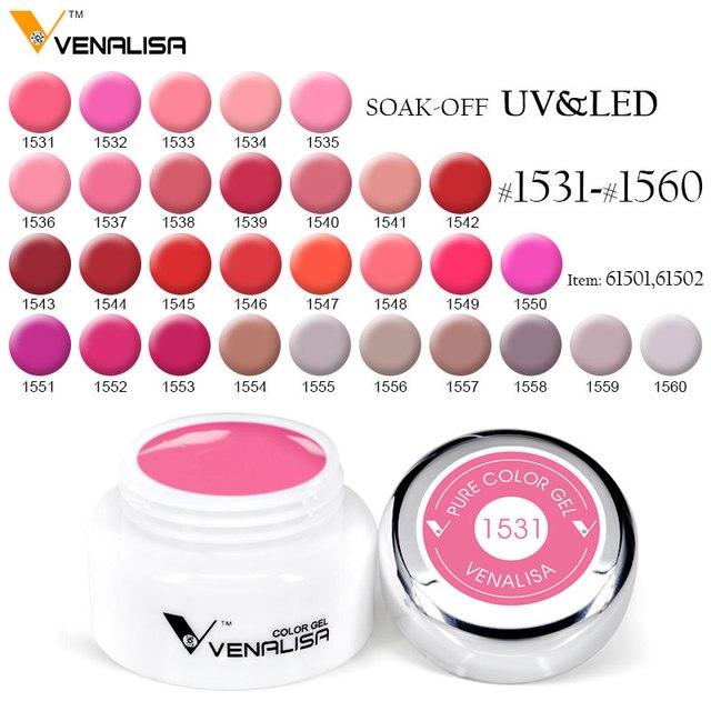 Venalisa nail art products 180 Color 5ml LED UV Nail Art Gel Paint ...