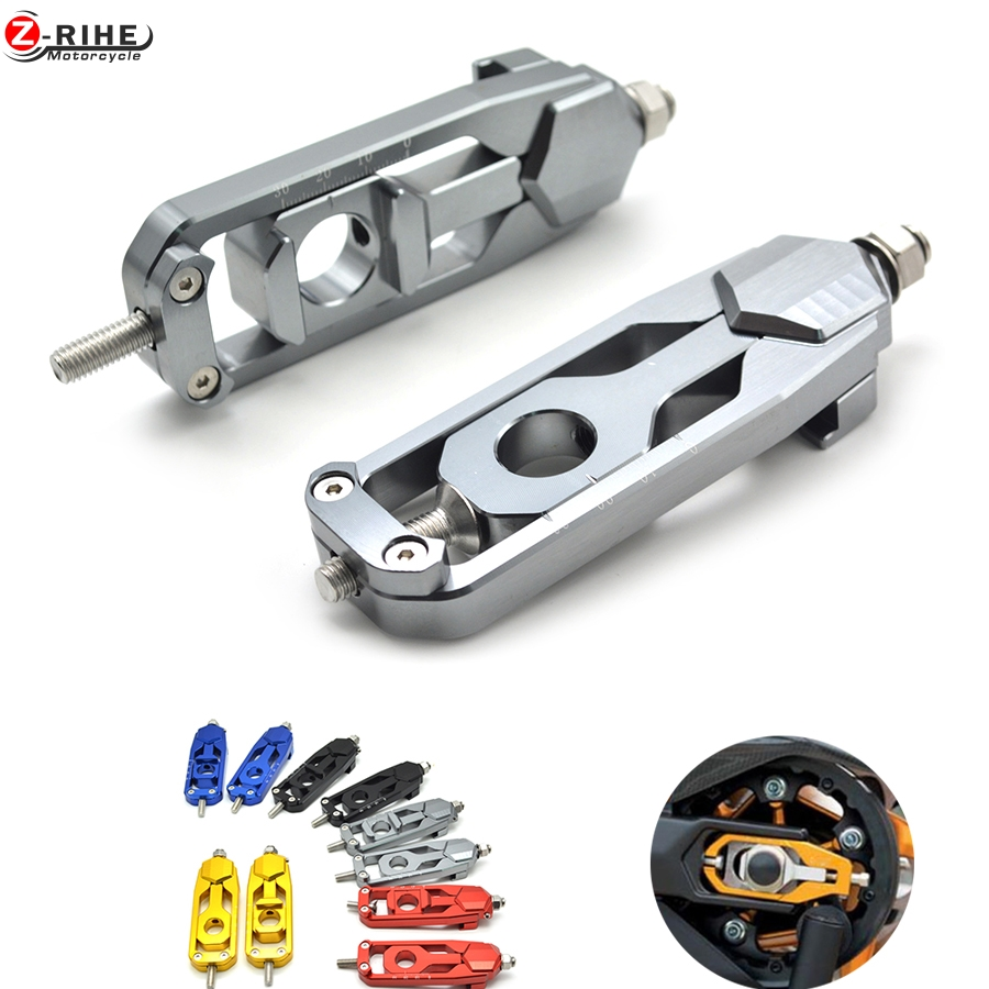 MT 09 M Motorcycle Parts CNC Tensioners Catena rear axle spindle chain adjuster For YAMAHA MT-09 TRACER FZ-09 FJ-09 MT FZ FJ 09
