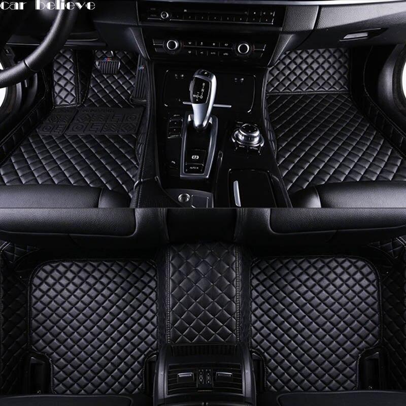 tapis de sol de voiture etanche accessoire de voiture pour audi a3 sportback audi a5 sportback a4 b8 avant tt