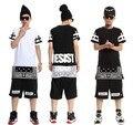2016 Hood By Air Men's Hip Hop t-shirt HBA Brand Zipper Design Men Extended Tee Shirts Man Longline Streetwear Clothing