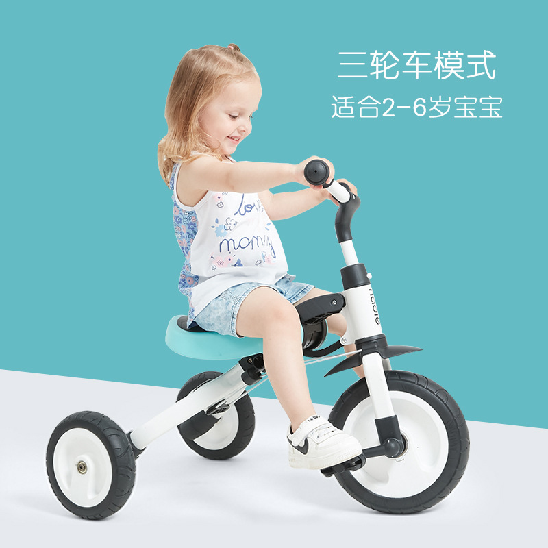 New Balance Car Tricycle 3 In 1 Riding And Sliding TF1 Deformable Dual Mode Bike Kids Indoor Outdoor Tricycles SA-08