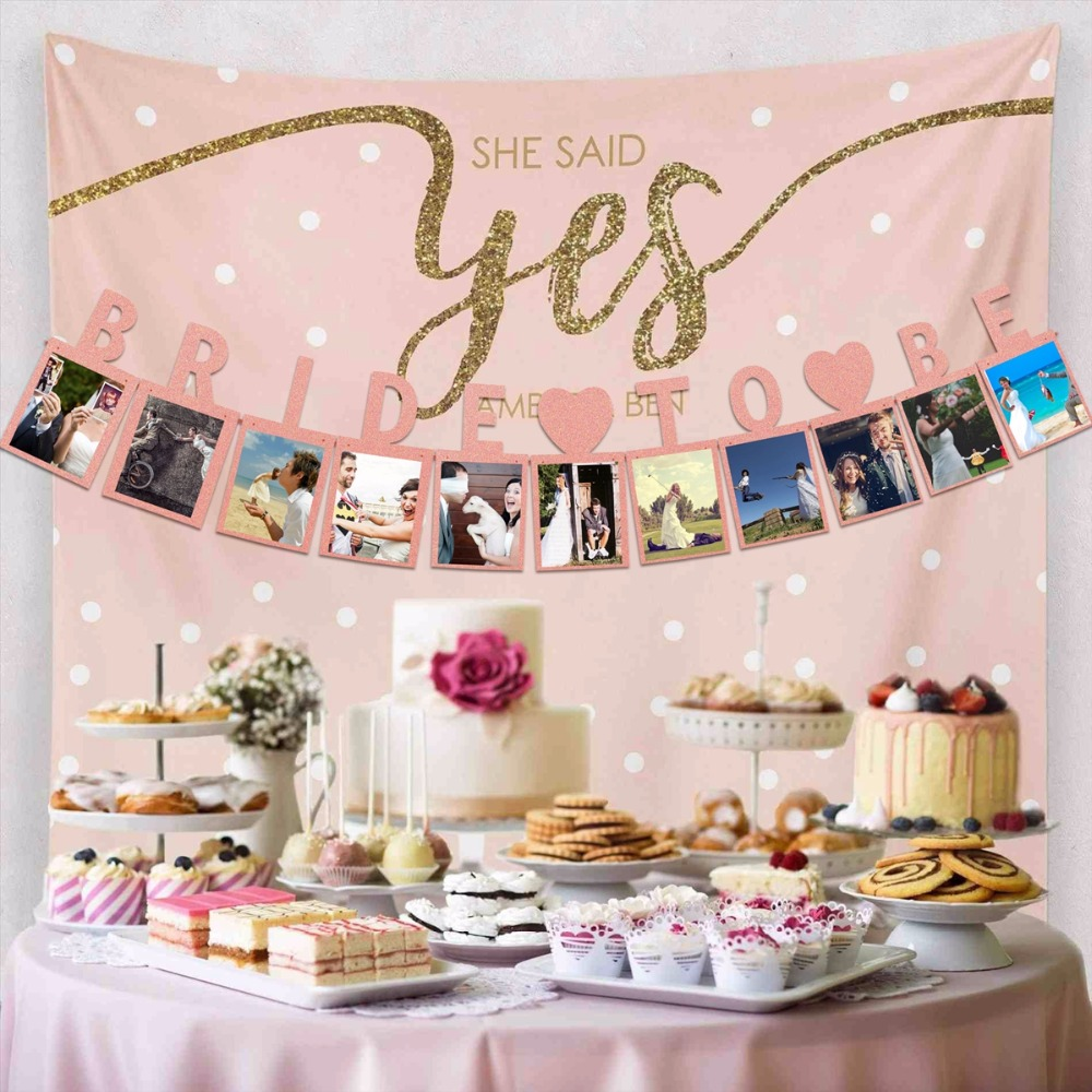 fengrise pink bride to be banner gold bridal shower decor bride to be garland for wedding decor bachelorette hen party supplies in banners