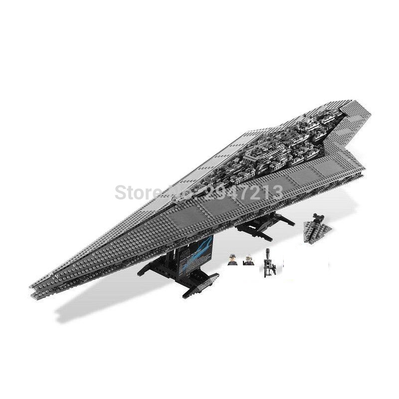 hot compatible LegoINGlys Star Wars series Building Blocks Imperial Star Destroyer with figures brick toys for children gift hot compatible legoinglys batman marvel super hero movie series building blocks robin war chariot with figures brick toys gift
