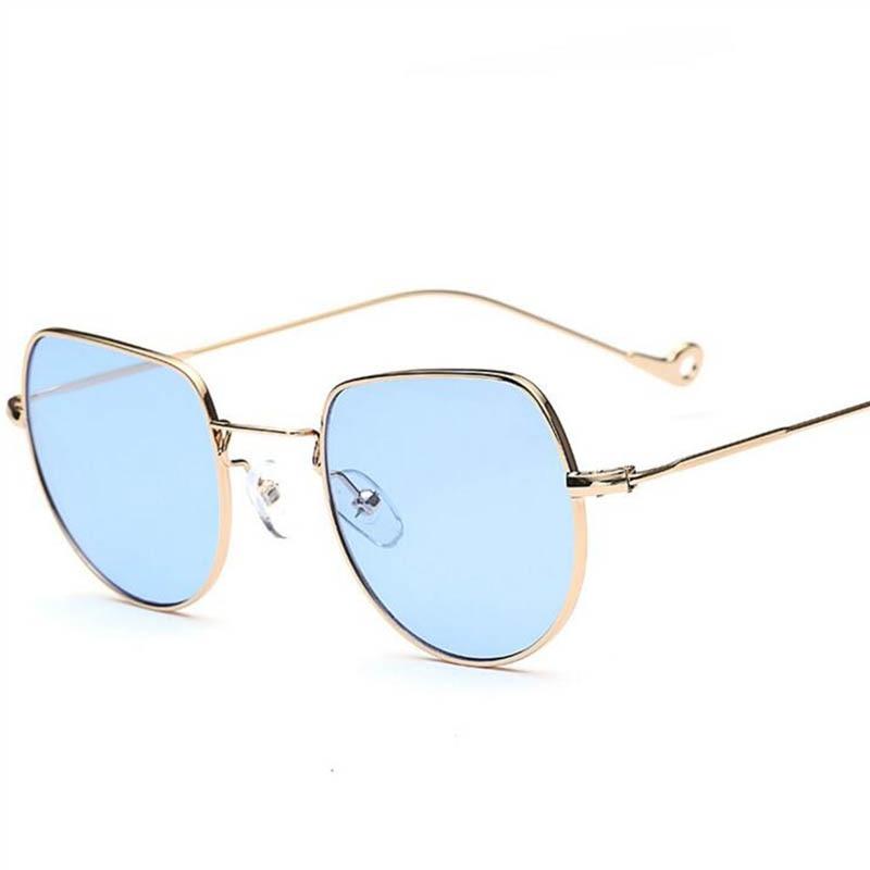 2017 Trends Frauen Sonnenbrille Kleinen Quadratischen rahmen polygon ...