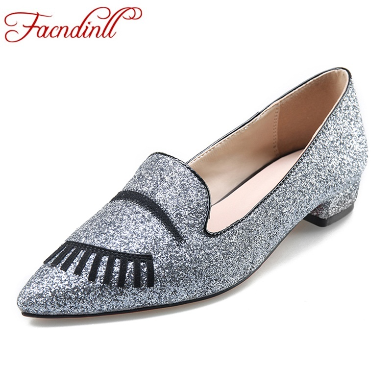 FACNDINLL shoes high qulaity women pumps low heels pointed toe shoes woman dress casual pumps slip-on square heels party shoes newest flock blade heels shoes 2018 pointed toe slip on women platform pumps sexy metal heels wedding party dress shoes
