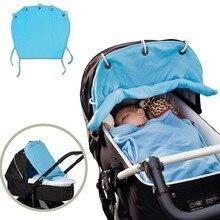 Хлопок детская коляска от солнца полотна вентилируемые детских колясок зонт коляски аксессуары