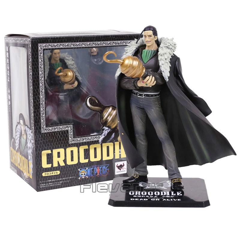 Anime One Piece Figuarts Zero Sir Crocodile PVC Figure Collectible Model Toy 18cm anime one piece figuarts zero sabo dead or alive pvc action figure collectible toy 6 8 17cm