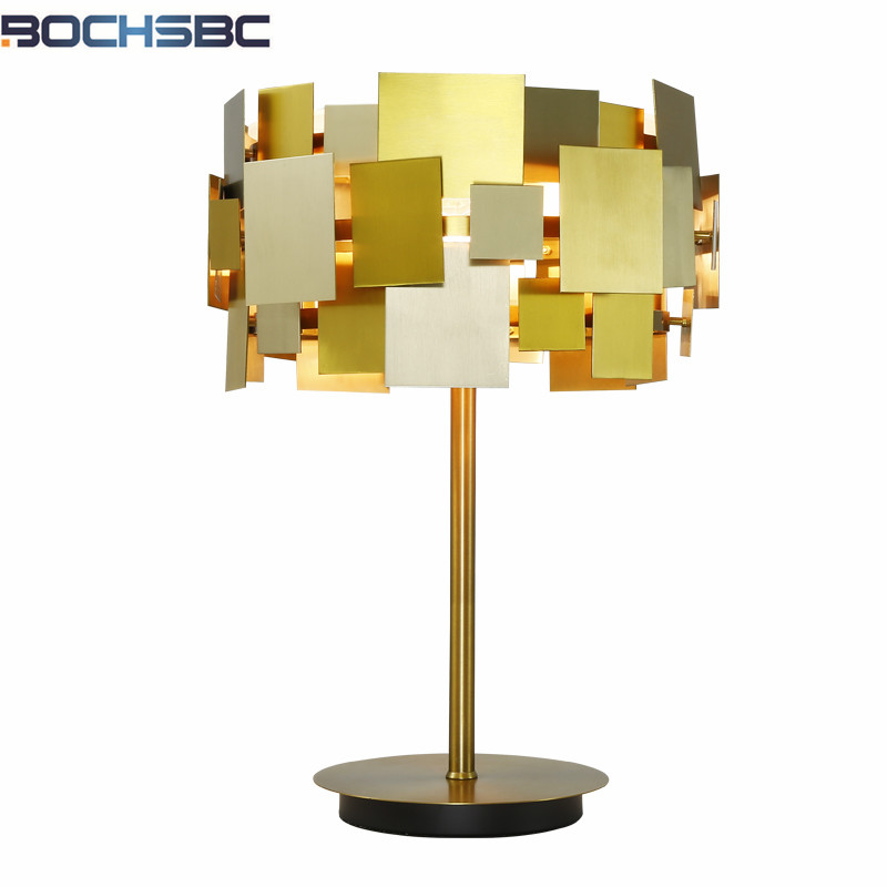 Liberal Gold Table Lamps Modern Designers Abajur Living Room Bedroom Study Metal Decoration Table Lamp Art Abajur Para Quarto H53cm Convenient To Cook Lights & Lighting