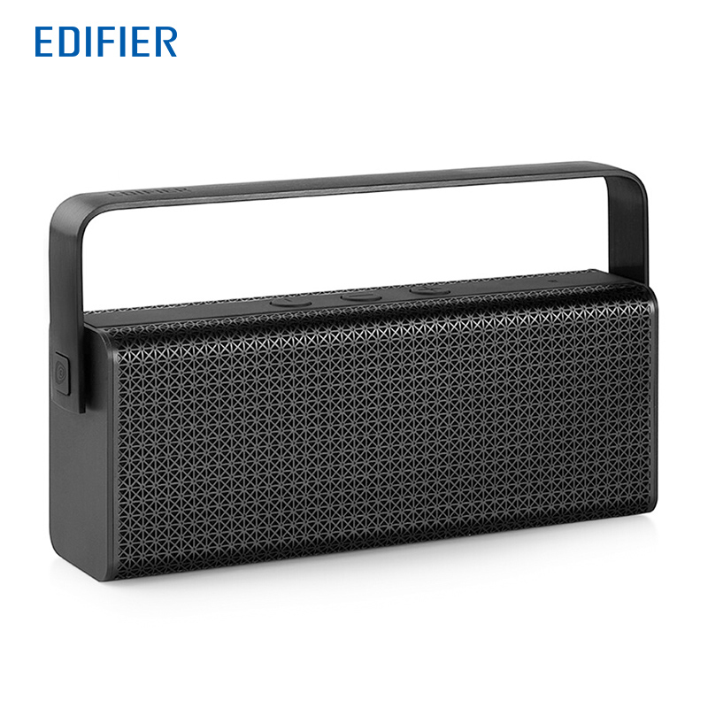 Edifier MP700 Portable Bluetooth Speaker NFC and APTX Lossless Transmission Wireless Speaker with DSP & DRC for Balanced Sound original edifier cinesound b7 media speaker for tv and living rooms with bluetooth optical and aux input wireless speaker