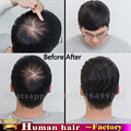 Clip in toupee 100% Human Real Hair Men's Toupee transparent replacement brazilian hair Hairpiece toupees mens lace toupee NEW