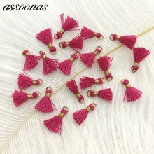 assoonas L69/accessory parts/jewelry accessories/jewelry findings/embellishments/Earring tassels /Cotton Tassel