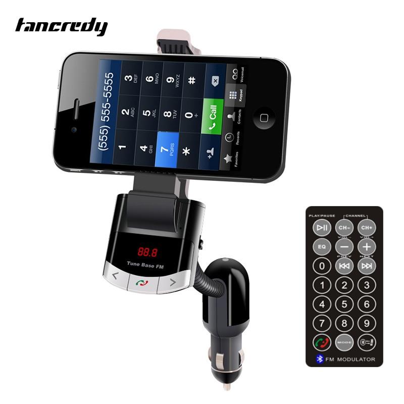 Promo Tancredy Handsfree Bluetooth Fm Transmitter Car Mp3 Music