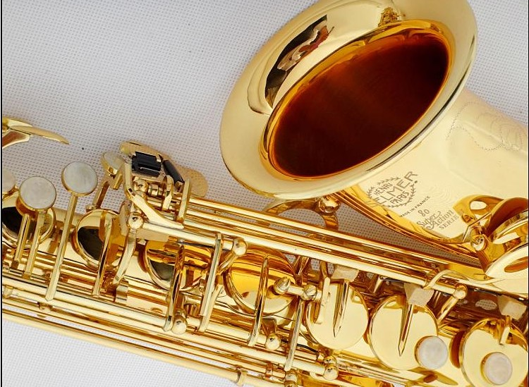 DHL / Fedex Free Shipping Brand France Henri alto Selmer 802 Gold Saxophone alto sax musical instruments professional sax case selmer of france b flat tenor sax instruments shipping professional performance suitable for beginners