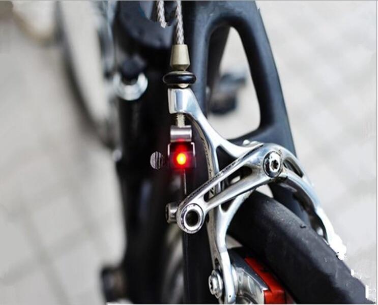 Портативный Мини-Тормоз Велосипед Свет Гора Хвост Заднего Велосипедов Свет Велоспорт Свет Высокой Яркости Водонепроницаемый красный СВЕТОДИОД лампы BL1901