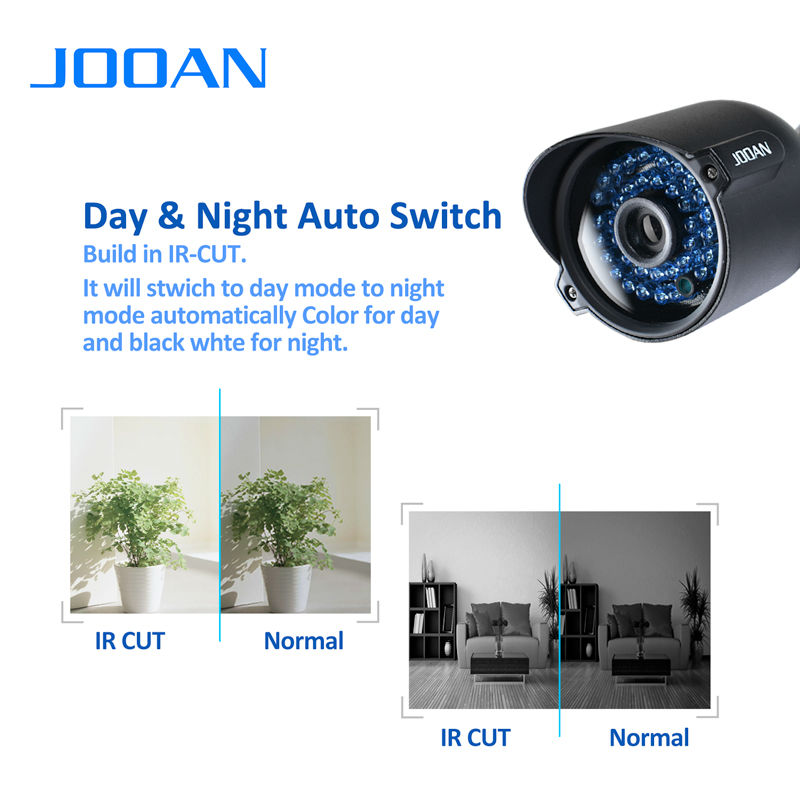 ЈООАН 1080П 720П сигурносна камера ЦМОС - Безбедност и заштита - Фотографија 4