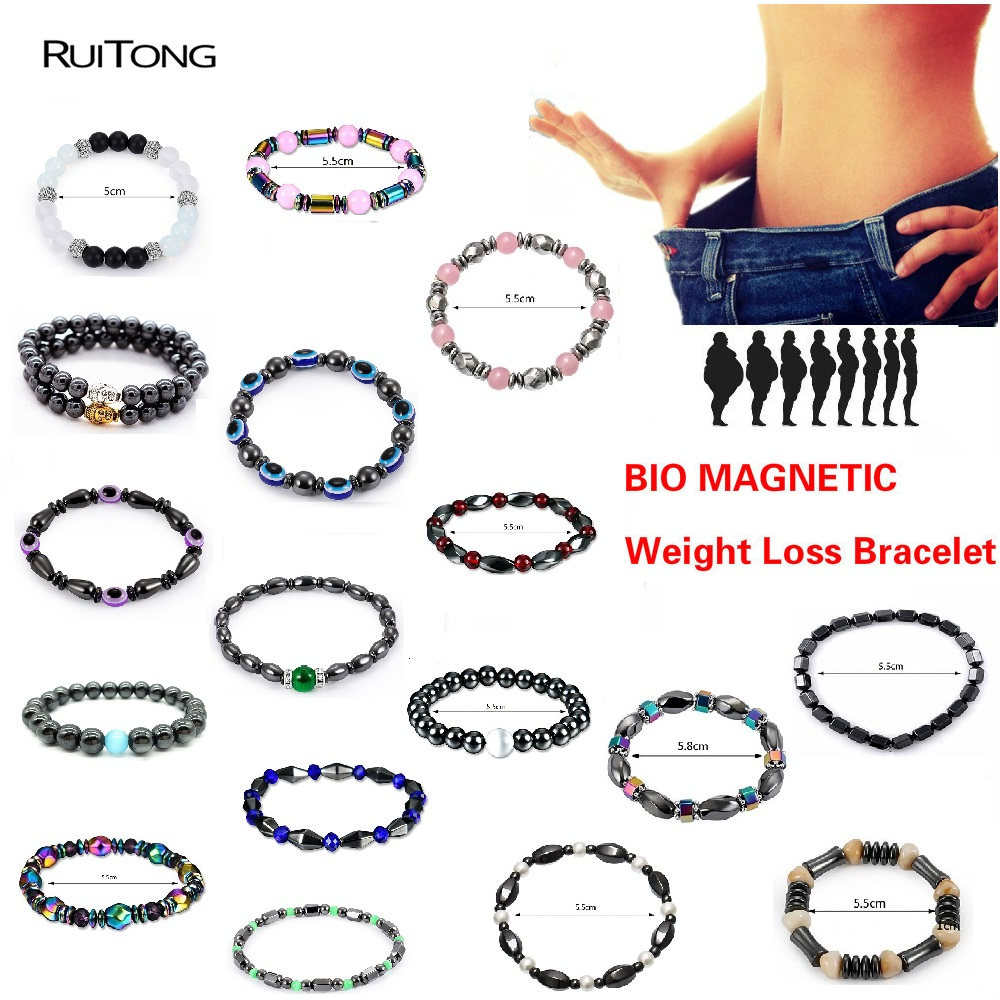 18 Style Fashion Weight Loss Magnetic Therapy Bracelet Health Care Luxury Slimming Fat reduction Product