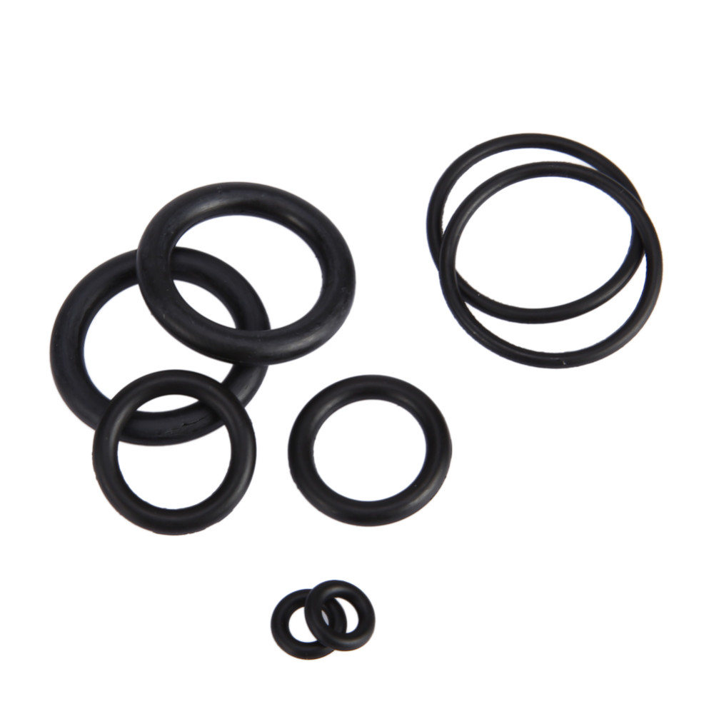 18 Размеры 225 шт. новый инструмент Пластик метрики уплотнительное кольцо шайба Уплотнители ассортимент черный для авто ремонта автомобиля