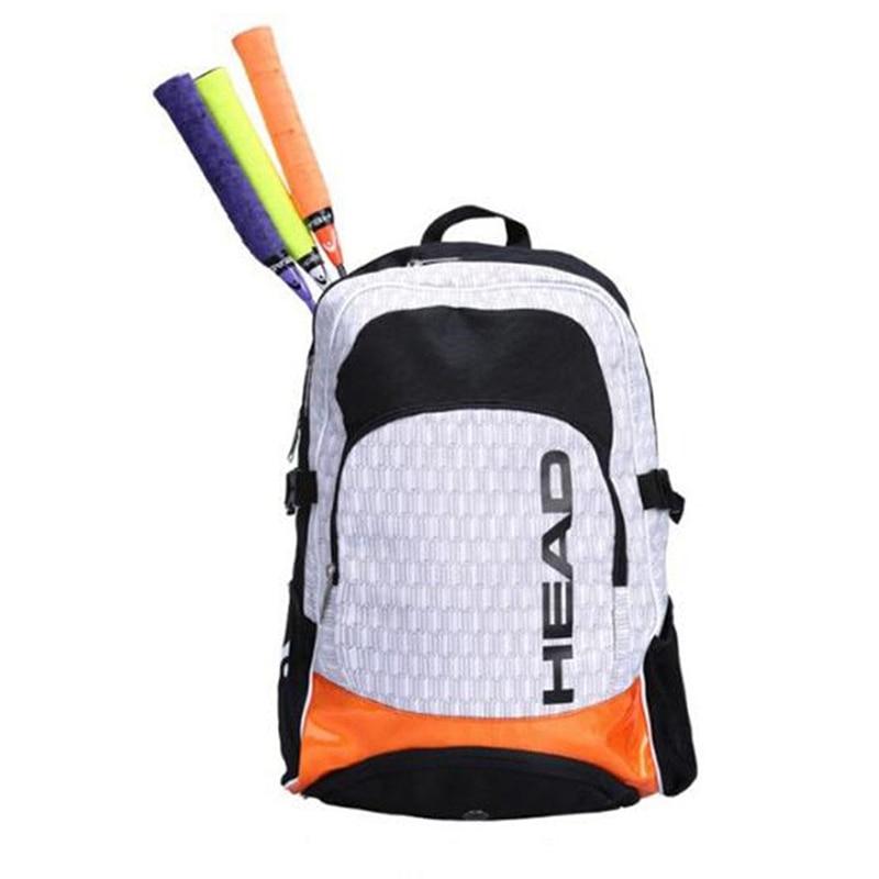 本 Head テニスラケットバッグ Tenis ラケット羽根バッグ男性テニスバックパックテニスラケットバッグアウトドアスポーツバックパック Tenis  グループ上の スポーツ & エンターテイメント からの ラケットスポーツバッグ の中 1