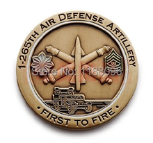2014 hot sale air defense artillery Commemorative Coins  medals Metal Crafts Wholesale and retail Free shipping  hl50035 2014 hot sale metal crafts american flag commemorative coin copper medals wholesale and retail free shipping hl50015