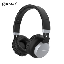 Bluetooth Wireless Headphones Gorsun E89 On Ear Lightweight Stereo Sports Foldable Headset Built in Mic for Iphone Xiaomi bluedio original t2 bluetooth wireless foldable headphones built in mic bt4 1 3d sound headset for cell phone xiaomi samsung