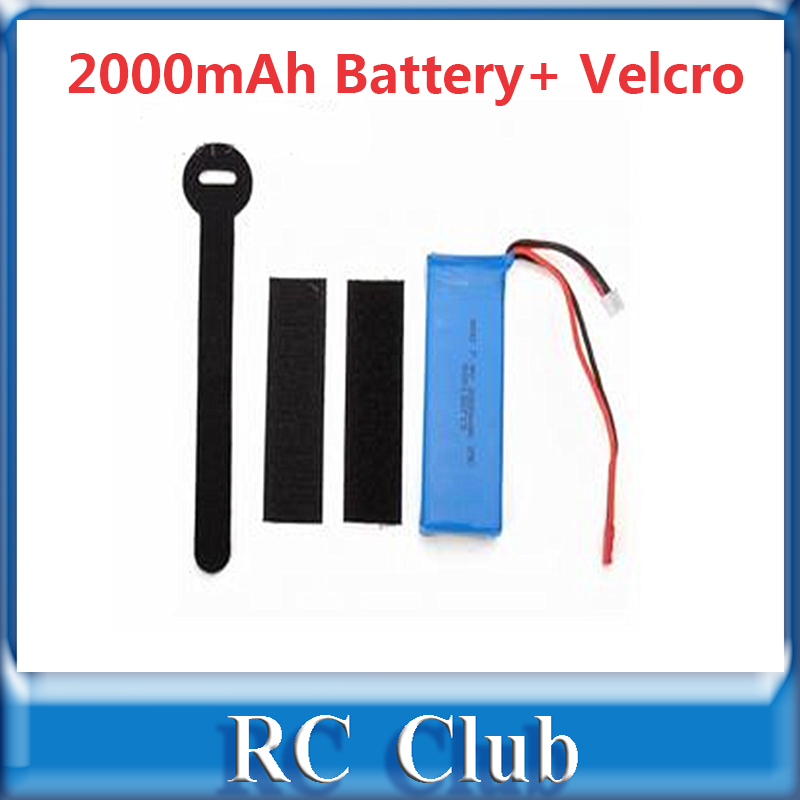 25C 7 4 V 2000mAh Battery for WLtoys V666 V353 V333 UDI U829 XINXUN X30 X30V