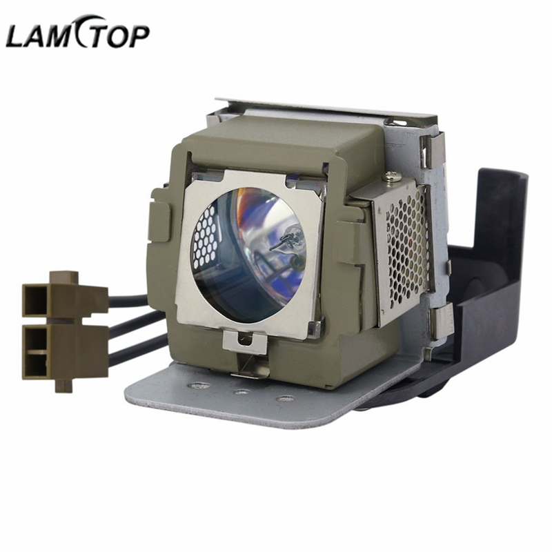 LAMTOP 5J.01201.001 compatible projector lamp bulb with housing MP510 free shipping lamtop compatible projector lamp 5j j0w05 001 for w1000