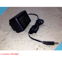 Storage Battery Motorcycle Car Charger 24v Lead Acid Battery Round Hole 27 6V 400mA US EU