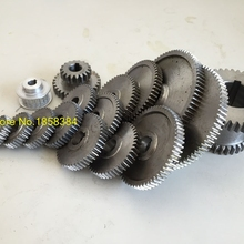 Gears Lathe Gears-Accessories Cutting-Machine Metal for 0618 17pcs/Set
