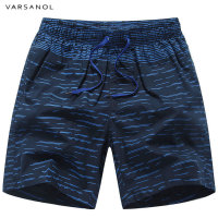 Varsanol Brand New Men's Beach Shorts Cotton Sea Board Shorts For Men 2018 Summer Breathable Good Quality Striped Male Shorts