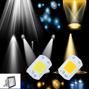 Image 5 - Inteligentny IC wysokiej dioda LED dużej mocy matryca do projektorach 20W 30W 50W 110V 220V DIY światło halogenowe reflektor COB LED na zewnątrz lampa układowa