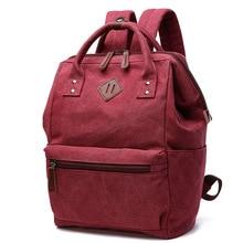 Mochila Feminina College Backpacks Fashion Women Canvas Backpack Shoulder Bag School Bag Teenage Knapsack for Girls Sac A Dos