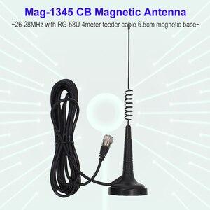 Image 1 - CB רדיו אנטנת Mag 1345 27MHz עבור נייד שתי בדרך רדיו ANYTONE AT 6666 AT 5555N ANYSECU CB 40M CB 27 רדיו